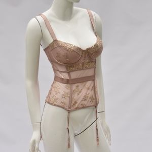 Victoria's Secret Lace Bustier garter !Clearance!